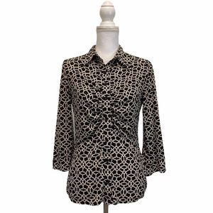 Laundry By Shelli Segal Button Down Shirt Small